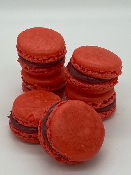 Macarons Erdbeere