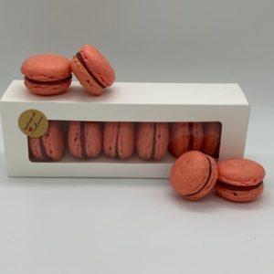 macarons shop himbeere