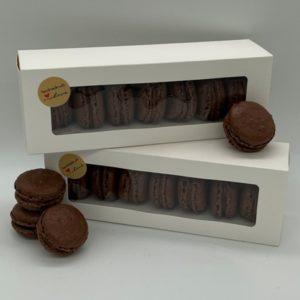 macarons shop schokolade