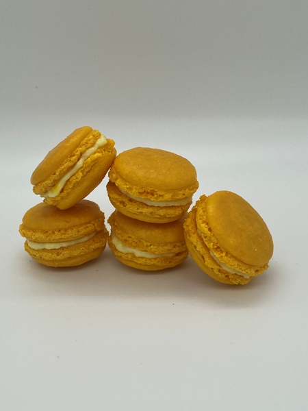 Macarons Zitrone