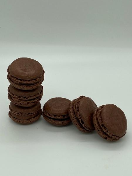 Macarons Schokolade
